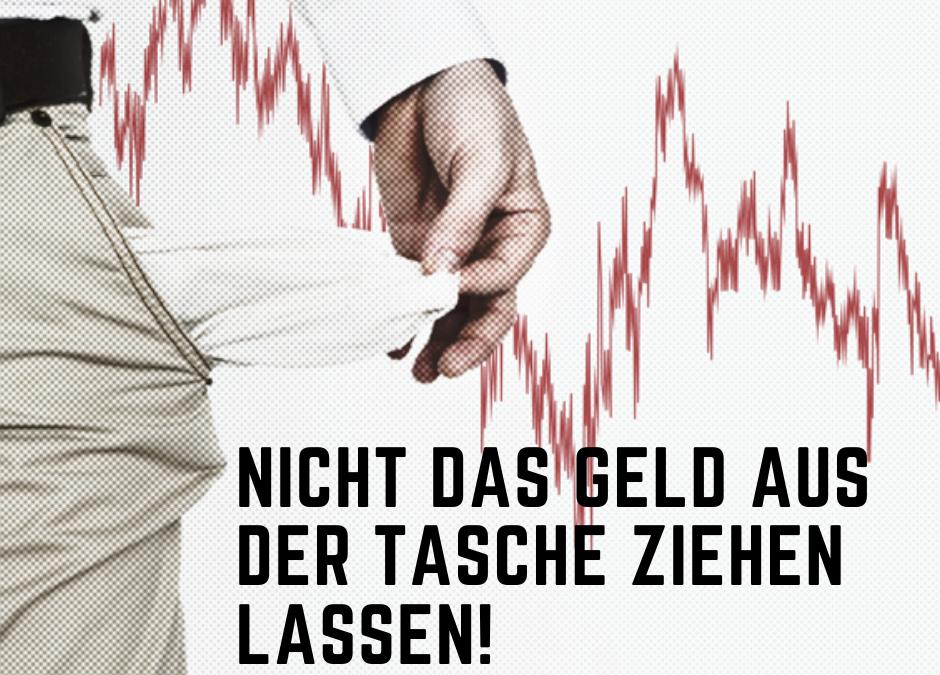 Strafzinsen und Inflation Gefahr fürs Sparkonto